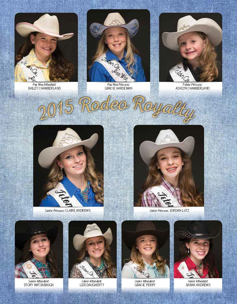 2015 Rodeo Royalty