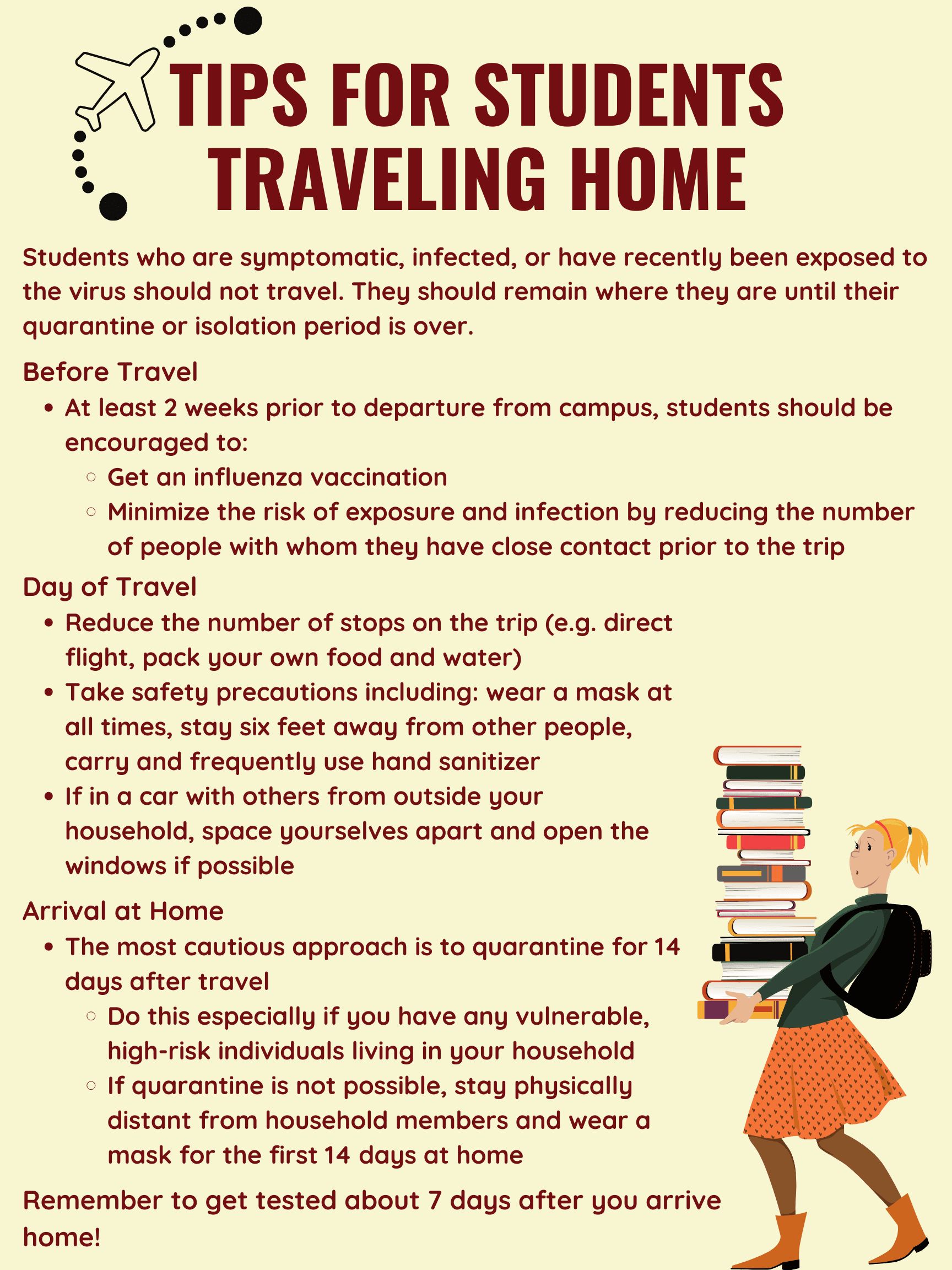 Students Traveling Home