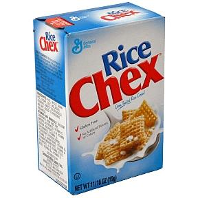 Rice Chex ceral box